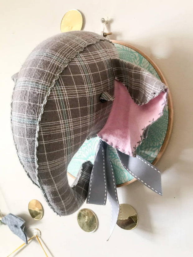 MARKET SALE Elephant Faux taxidermy