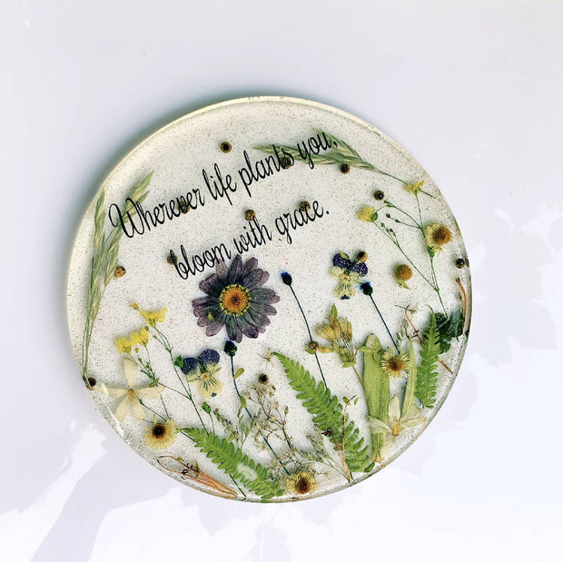 Customized Blossom Dish - 7 or 8.5 inches round