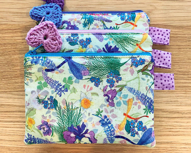 Dragonfly Cosmetic Purse