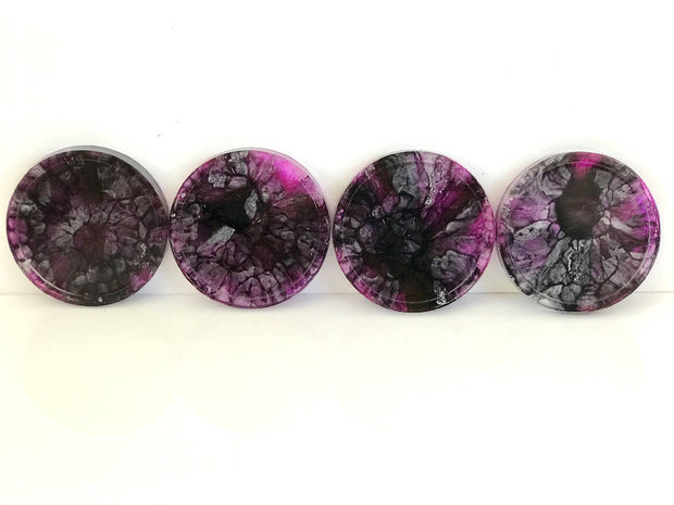 Resin Coasters - Set of 4