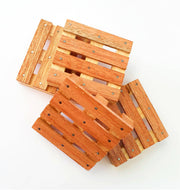 Wooden Pallet Coasters - Pack 4