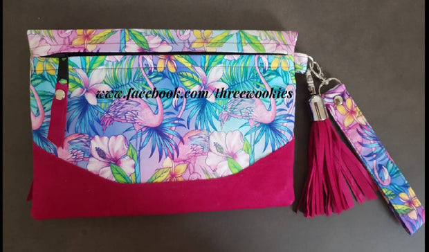 CUSTOM Fold Over Clutch