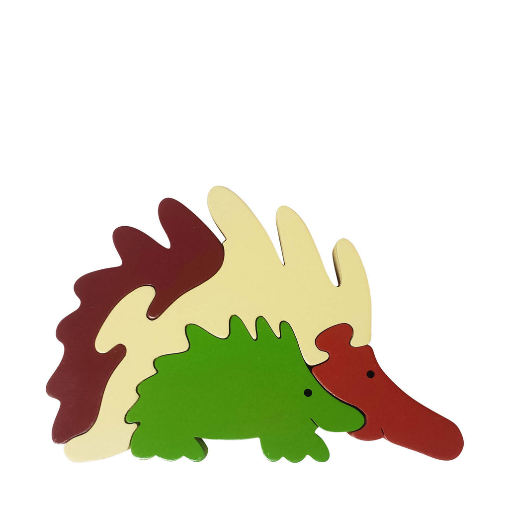 Echidna Wooden Animal Puzzle