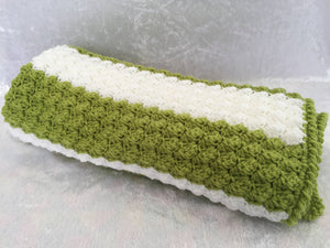 Baby Blanket, Baby afghan, Receiving blanket, Cot, Bassinet, Pram, Car