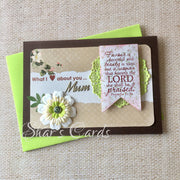 Mothers Day card with Bible verse