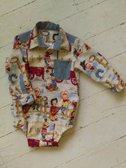 Cowkid Troop Romper