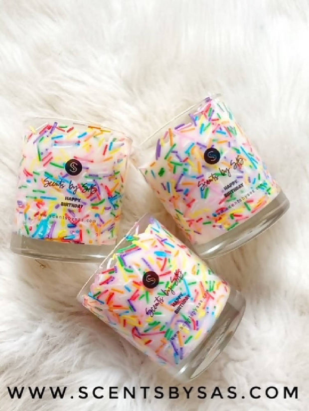 Sprinkly Candle