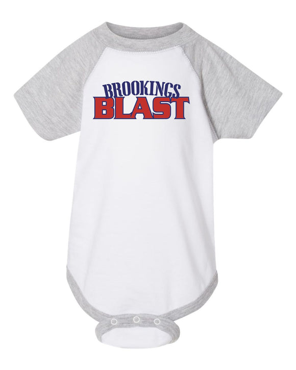 Blast Softball - INFANT -  Rabbit Skins - Baseball Fine Jersey Bodysuit - 4430