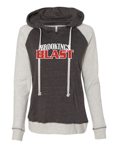 Blast Softball - WOMENS - MV Sport Harper Raglan Hooded Pullover Sweatshirt - W17127