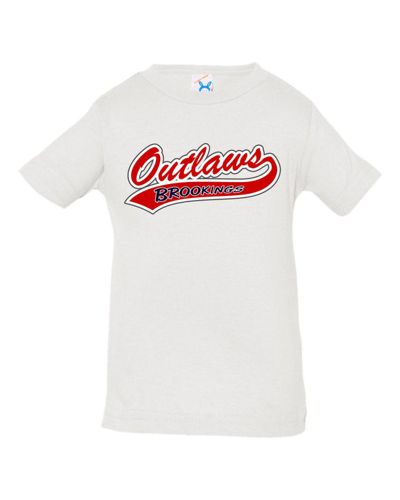 Outlaw Softball INFANT Rabbit Skins - Fine Jersey Tee - 3322