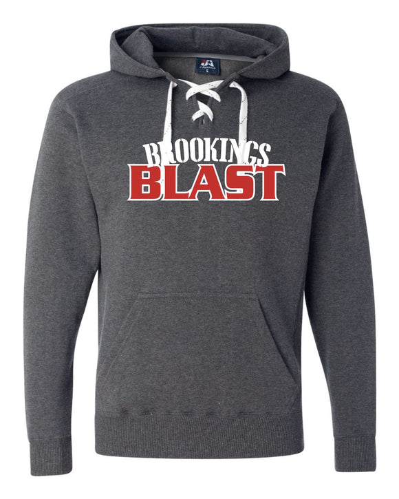 Blast Softball - UNISEX - J. America - Sport Lace Hooded Sweatshirt - 8830
