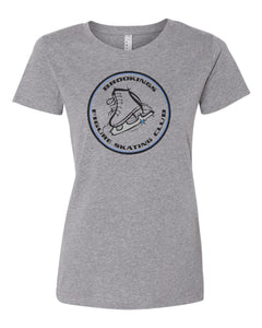Brookings Figure Skating Club INFANT - LAT - Women's Fine Jersey Tee - 3516