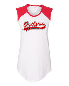 Outlaw Softball - WOMENS - Alternative - Vintage Team Player Tee - 5104