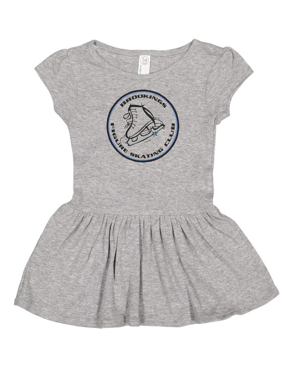 Brookings Figure Skating Club INFANT - Rabbit Skins - Infant Baby Rib Dress - 5320