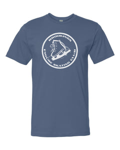 Brookings Figure Skating Club Fine Jersey Tee - 6901