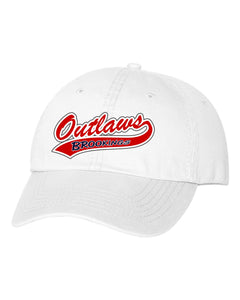 Outlaw Softball - Valucap - Unstructured Washed Chino Twill Cap - VC350