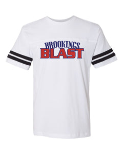 Blast Softball LAT - TODDLER , YOUTH , and ADULT SIZES Football Fine Jersey Tee - 6937