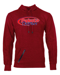 Dakota Drifters Snowmobile Club - Russell Athletic - Cotton Rich Hooded Pullover Sweatshirt - 82HNSM