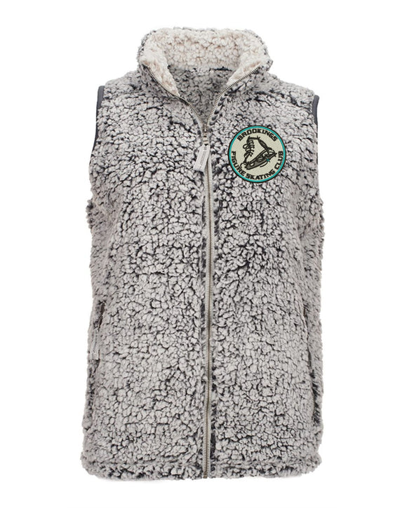 Brookings Figure Skating Club - J. America - Women's Epic Sherpa Vest - 8456