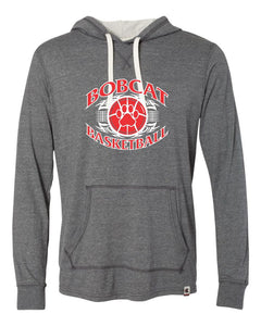 Brookings Bobcat Basketball - Originals Women's Triblend Hooded Pullover - AO100 - Design BB003