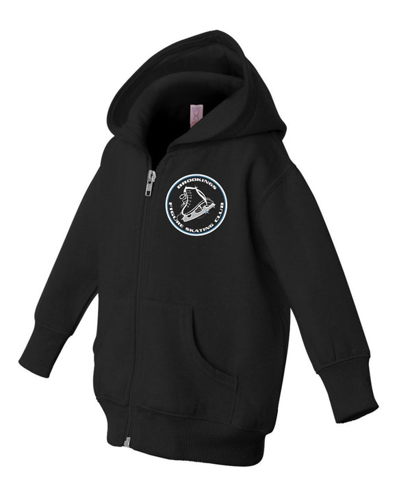 Brookings Figure Skating Club Infant Zip Fleece Hoodie - 3446