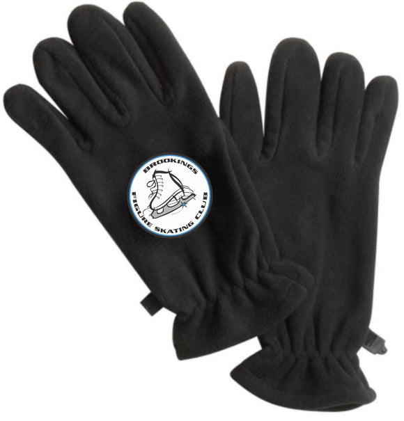 Brookings Figure Skating Club - GL01 Port Authority® Fleece Gloves