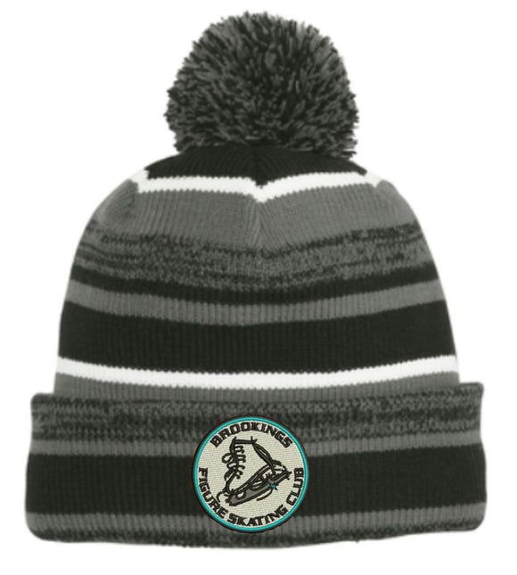 Brookings Figure Skating Club - Embroidered NE902 New Era® Sideline Beanie