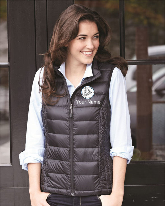 876c024324b2ae Brookings Figure Skating Club - Embroidered 32 Degrees Women's Packable  Down Vest - 16700W