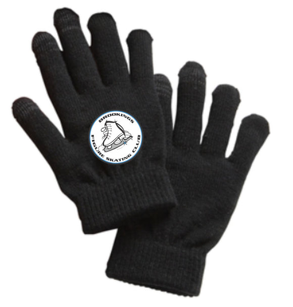 Brookings Figure Skating Club - Thin Spectator Gloves