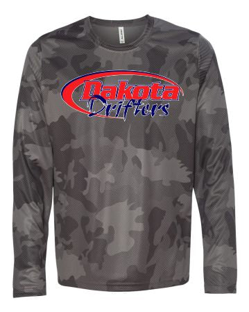 Dakota Drifters Snowmobile Club - All Sport - Performance Long Sleeve T-Shirt - M3009
