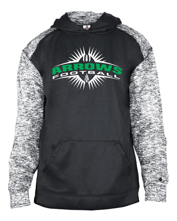 Pipestone Arrows Cosmic Hooded Sweatshirt - Design PHS02