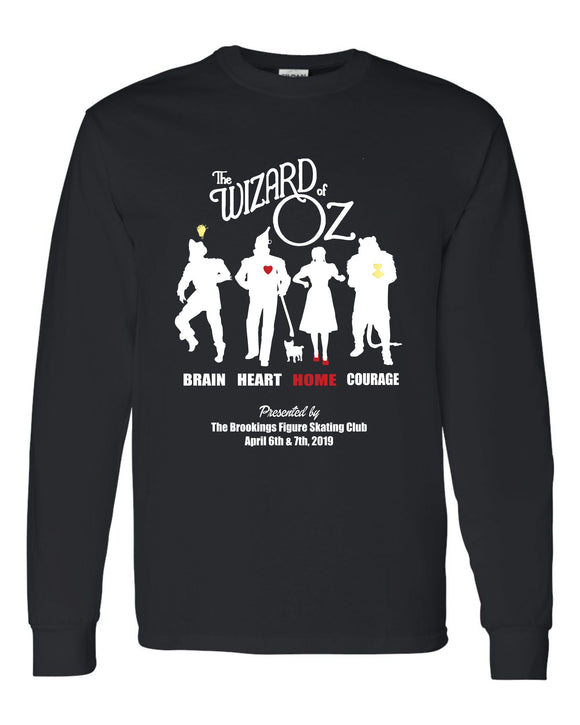 Wizard of Oz Show - LONG SLEEVE TEE - Black