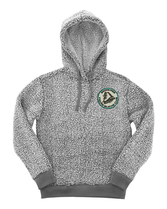 Brookings Figure Skating Club - Boxercraft - Adult Sherpa Hoodie - Q15
