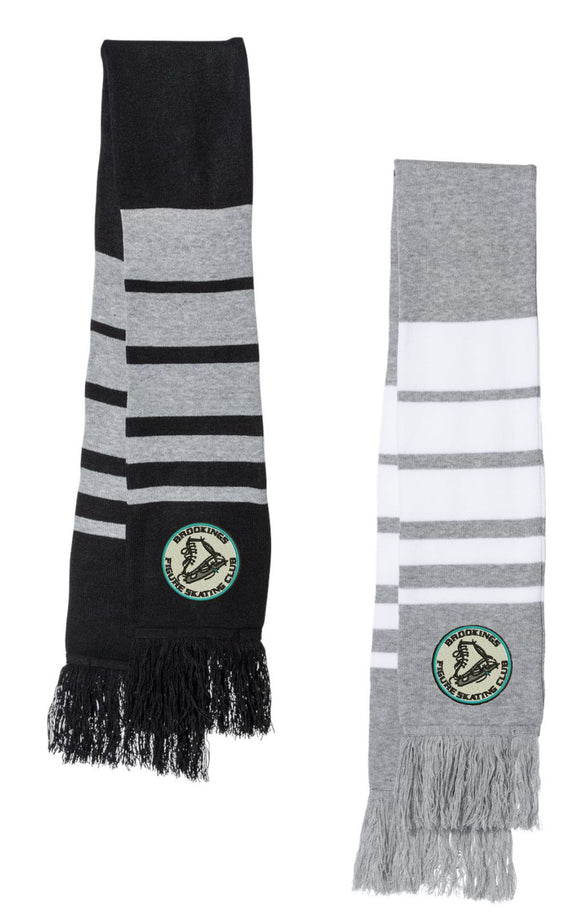 Brookings Figure Skating Club Sportsman Embroidered Scarf - SP07