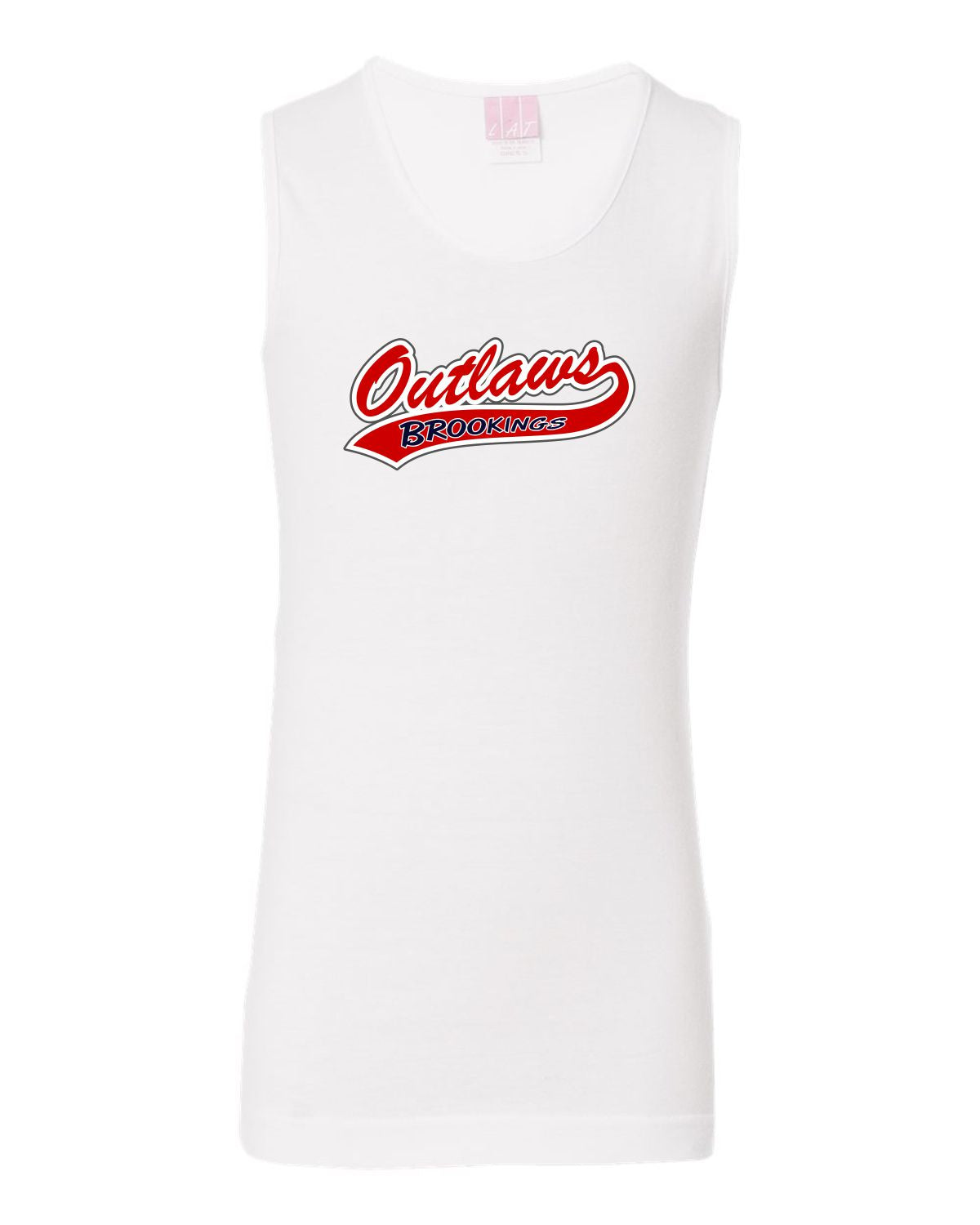 29d5d9315dc8c ... Outlaw Softball - Unisex Adult   Youth - Badger - B-Core Sleeveless T-