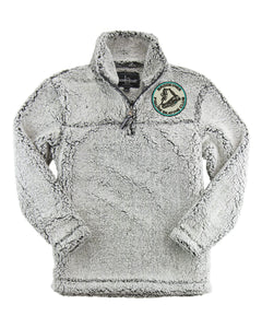 Brookings Figure Skating Club - Boxercraft - YOUTH Sherpa Quarter-Zip Pullover - YQ10