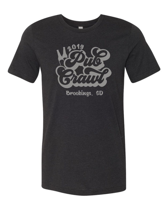 Pub Crawl 2019 - Bella Canvas Short Sleeve Tee Shirt - 3001CVC