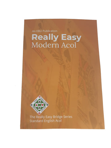 Really Easy Modern Acol - NEW EDITION