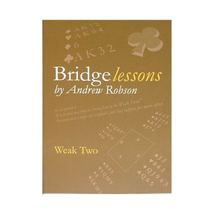 Bridge Lessons: Weak Two