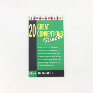 20 Great Conventions Bridge Flipper