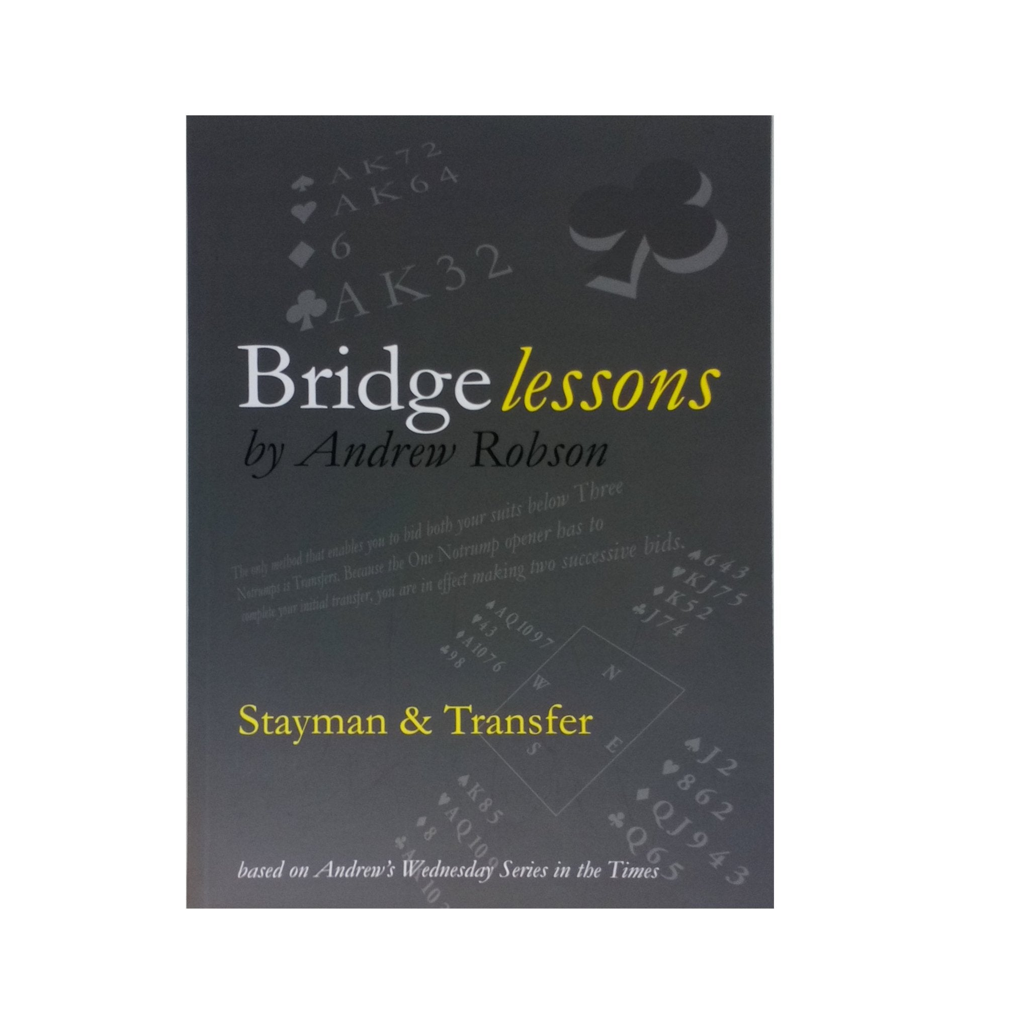 Bridge Lessons: Stayman and Transfer