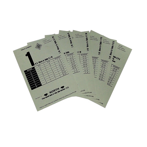 Howell Movement Cards  3-8 Table - EMAILED FREE