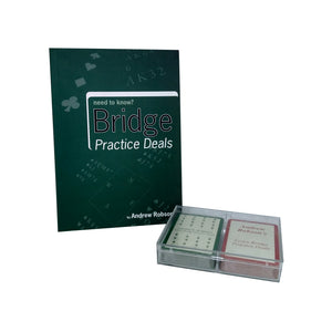 Need to Know Bridge - Book & Cards