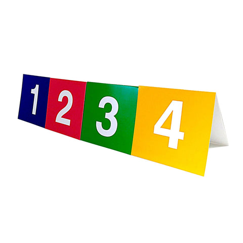 Table Numbers Laminated -  Single