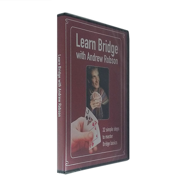 Learn Bridge DVD with Andrew Robson *NEW*