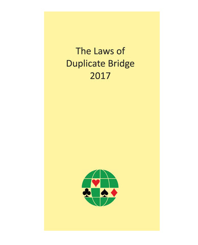 The Laws of Duplicate Bridge