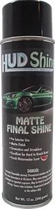 HUD Refinishing HUD11 Matte Final Finish Aerosol