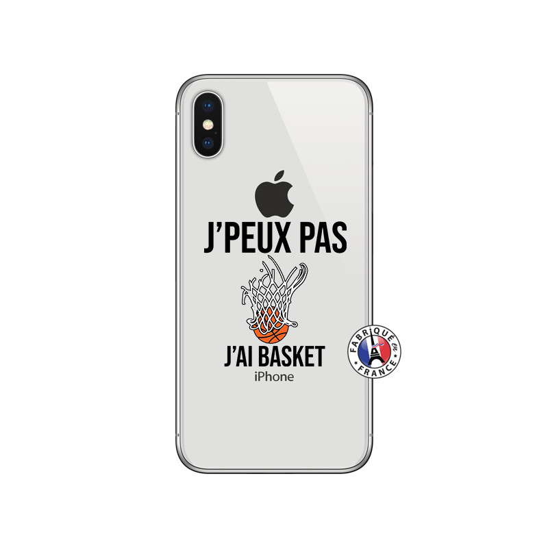 Une coque iphone pour les fans de basketball ! #coque #iphone #apple