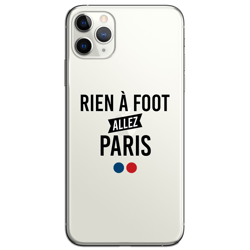 rien a foot allez paris psg coque iphone apple