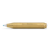 Balpen messing- serie 'brass sport'